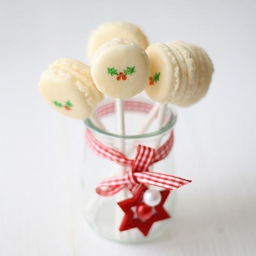 Macarons para Navidad