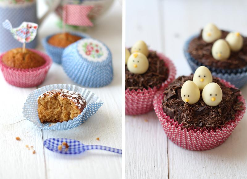 Cupcakes de Pascua - Easter cupcakes
