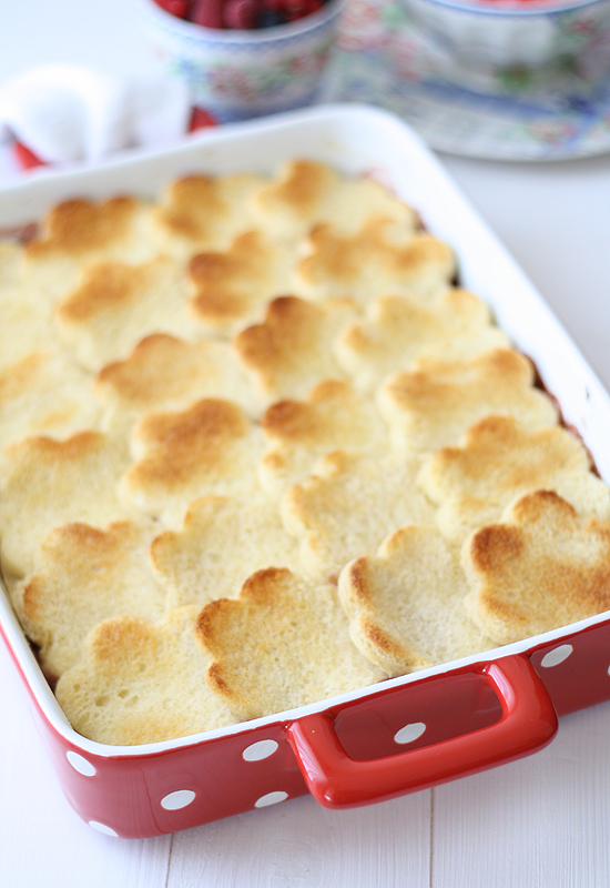 Pastel de pan y fresas - Strawberries bread pudding