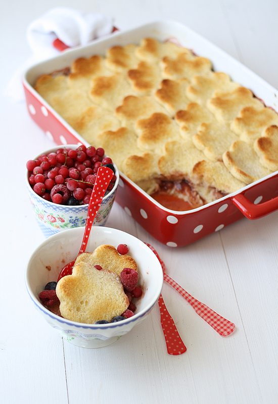 Pastel de pan y fresas - Strawberries bread pudding