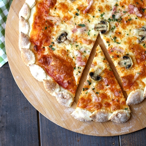 Autumn pizza