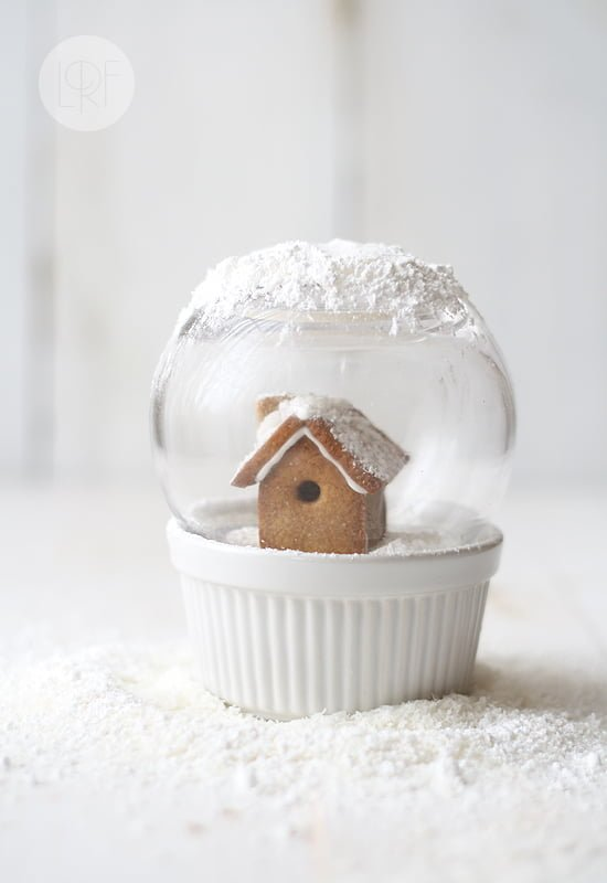 Edible Snow Globe