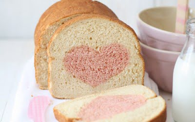 Pan de molde casero (receta de San Valentín)