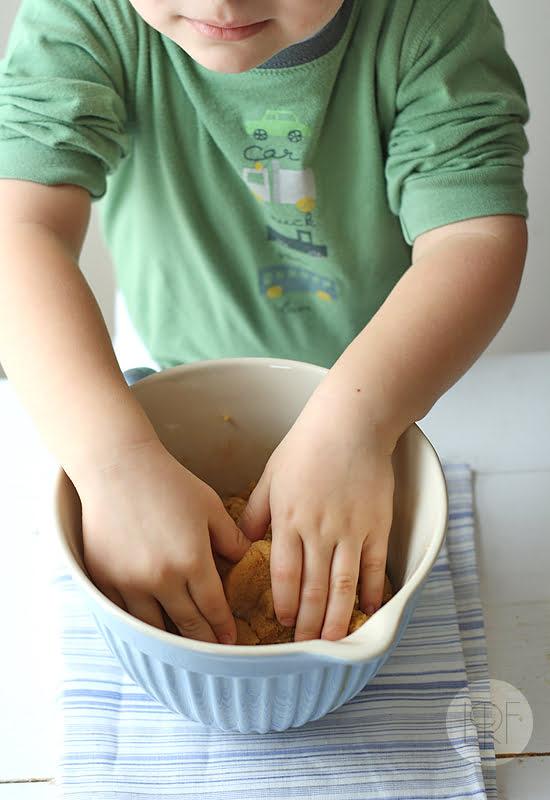 galletas de lacasitos, paso a paso 1