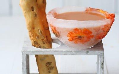 Gazpacho (en cuenco de hielo)