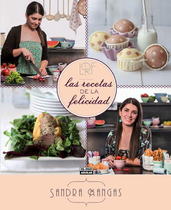 Libro Las recetas de la felicidad (Sandra Mangas)