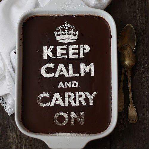 Tarta de chocolate (sin huevos ni lácteos)