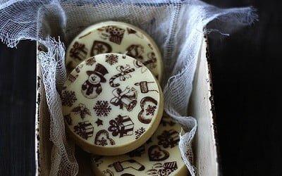 Galletas de chocolate y turrón