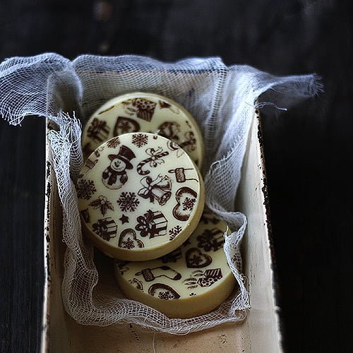 Galletas de chocolate y turrón