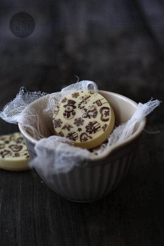 Galletas de turrón y chocolate blanco