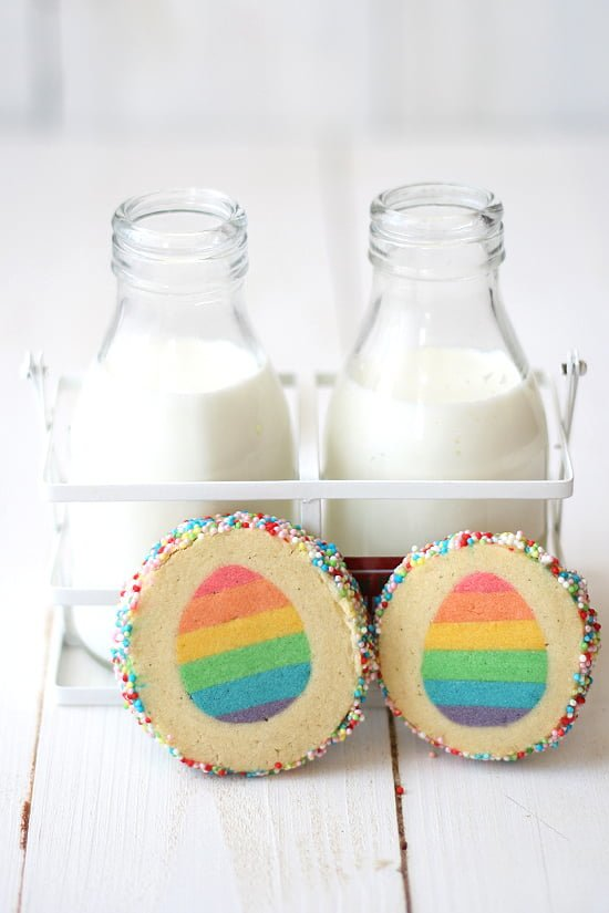 Surprise inside cookies for Easter