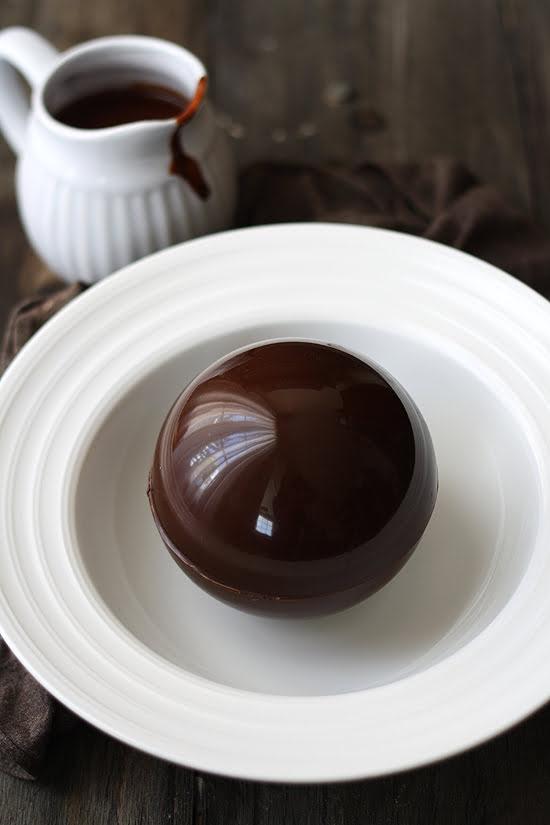 Bola de chocolate sorpresa