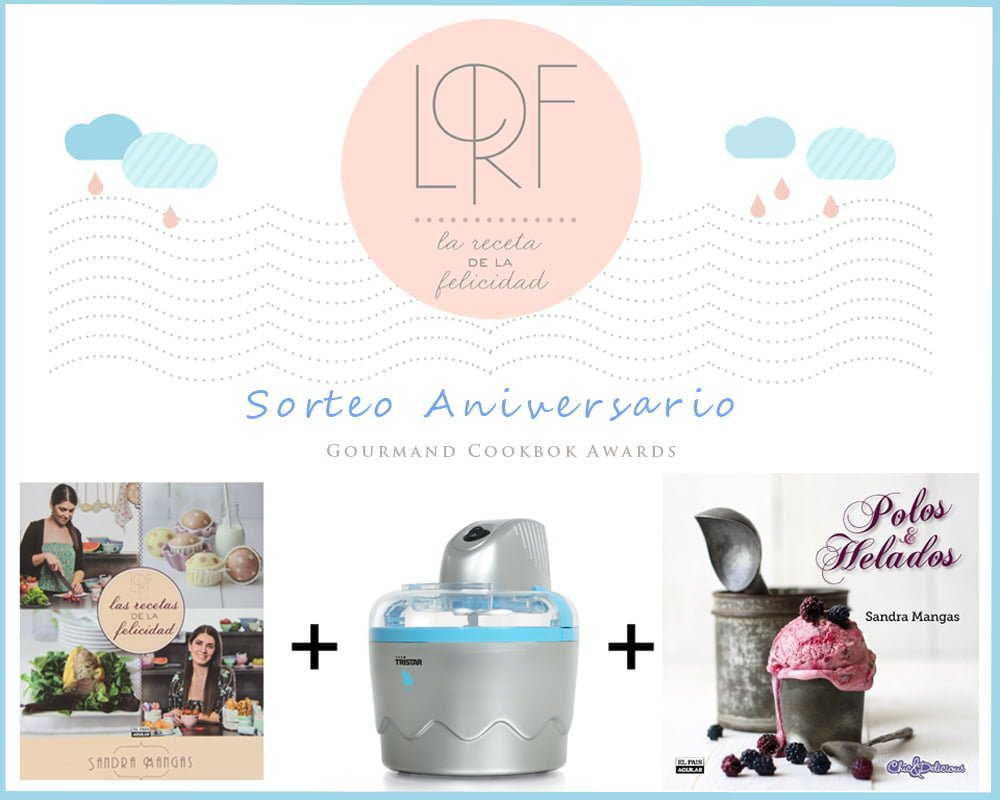 Sorteo Gourmand Cookbook Awards