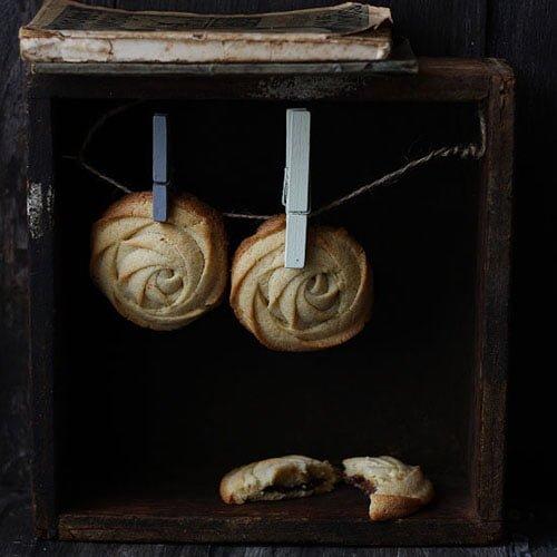 Pastas rellenas de nutella