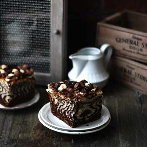 Chocolate Crumble Cake