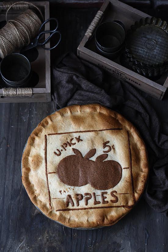 Apple cheese pie
