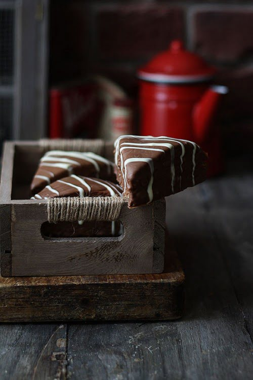 Triángulo de chocolate